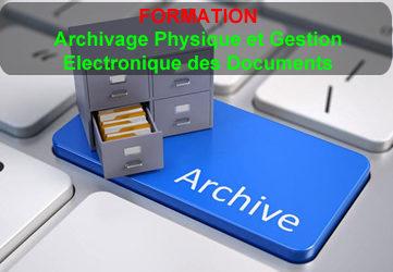 ARCHIVAGE ET GESTION ELECTRONIQUE DES DOCUMENTS
