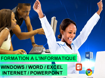 FORMATION A L'INFORMATIQUE